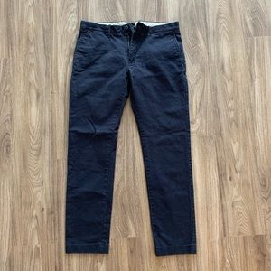 Blue chinos. Waist 33, length 32